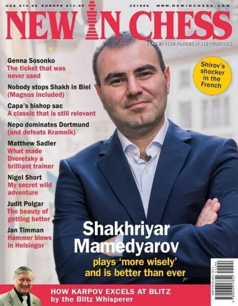 New In Chess Magazine 2018 №6 (Shakhriyar Mamedyarov)