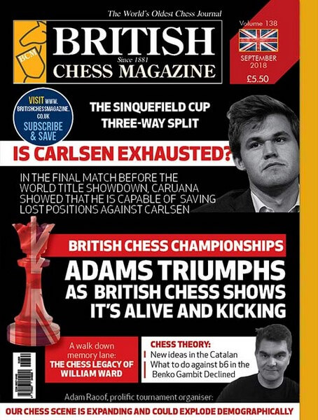 British Chess Magazine - September 2018