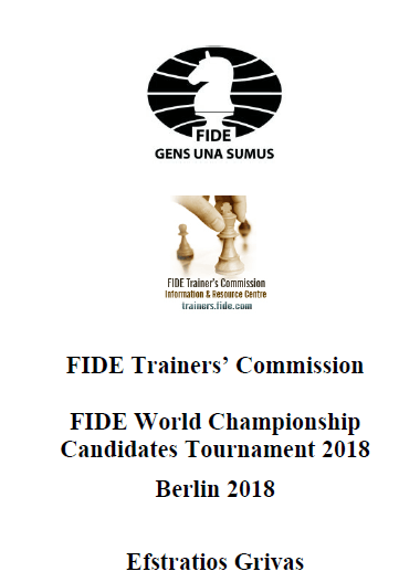 FIDE World Championship Candidates Tournament 2018: Berlin 2018