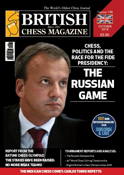 British Chess Magazine - October 2018