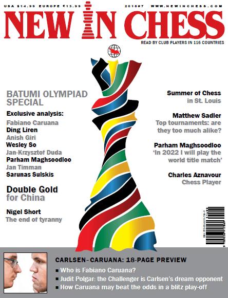 New In Chess Magazine 2018 №7