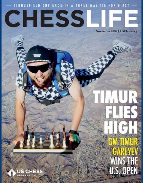 Chess Life Magazine November 2018