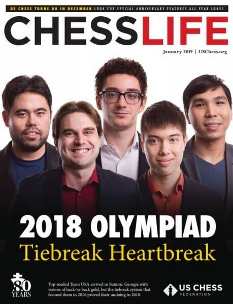 Chess Life Magazine January 2019