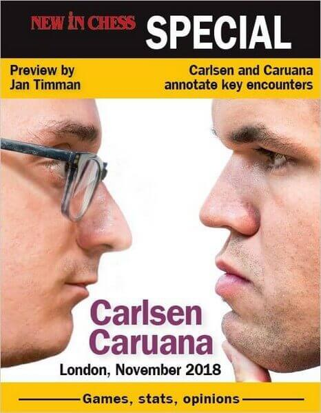 New In Chess Magazine Carlsen-Caruana Special