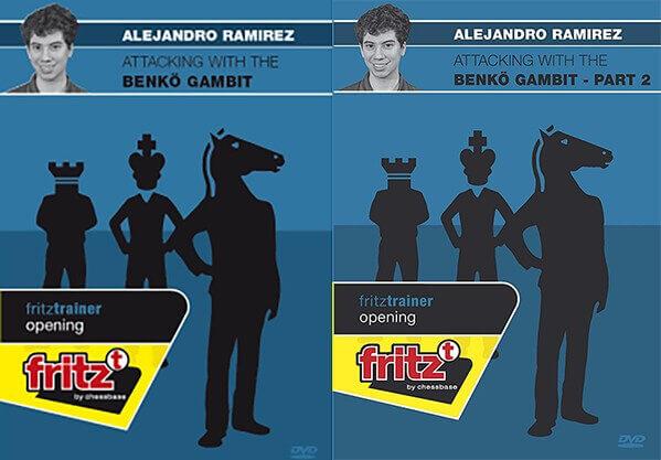 Attacking with the Benko Gambit Part 1, 2 – GM Alejandro Ramirez