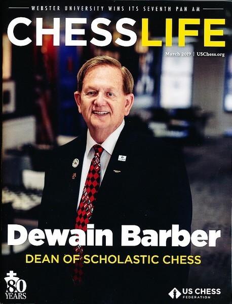 Chess Life Magazine March 2019