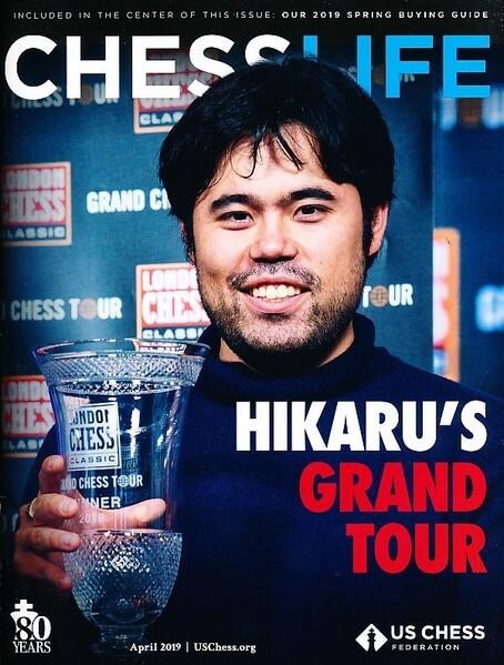 Chess Life Magazine April 2019