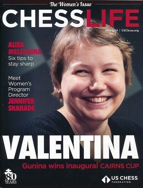 Chess Life Magazine May 2019