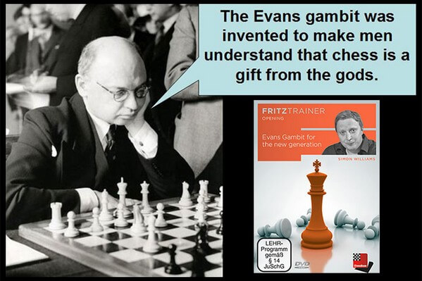Fritz Trainer, Simon Williams, The Evans Gambit for the New Generation