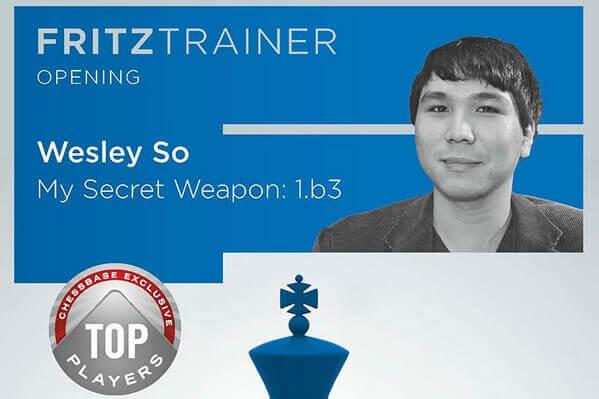 Fritz Trainer, Wesley So, My Secret Weapon 1.b3