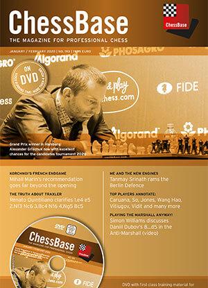 Chessbase Magazine №193: The Magazine for Professional Chess (SDVL)