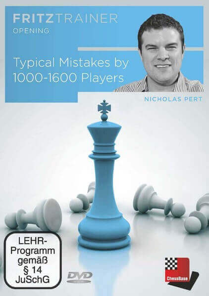 Fritz Trainer, Nicholas Pert. Typical Mistakes by 1000-1600 Players (SDVL)