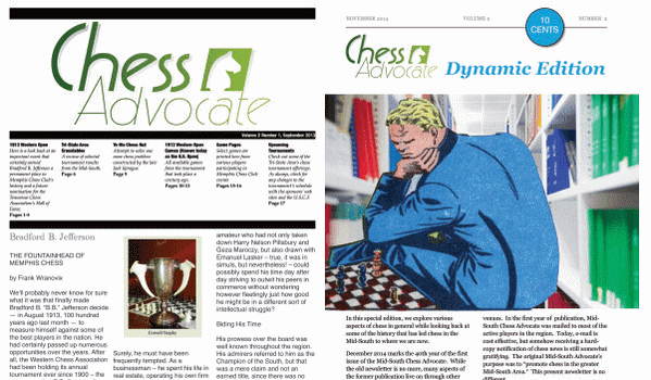 Chess Advocate. Vol. 2. Number 1, 2
