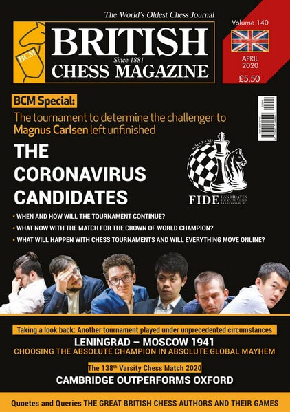 British Chess Magazine - April 2020