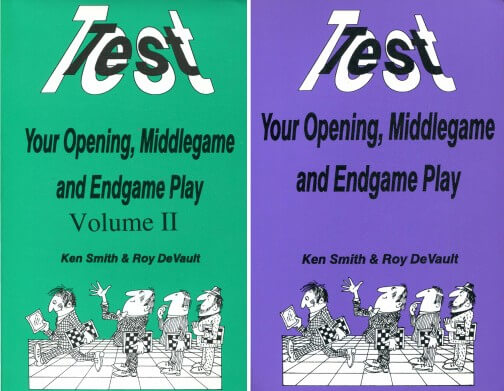 Test Your Opening, Middlegame and Endgame Play Volume 1,2