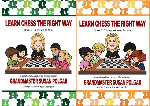 Learn Chess The Right Way: Book 4: Sacrifice to Win Volume 4,5
