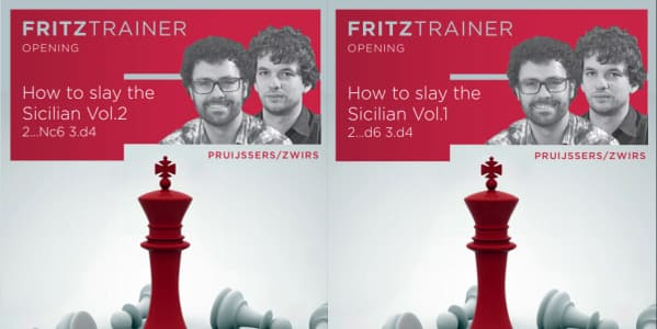 Fritz Trainer, How to slay the Sicilian. Vol.1 (2...d6 3.d4:), Vol.2 (2…Nc6 3.d4)