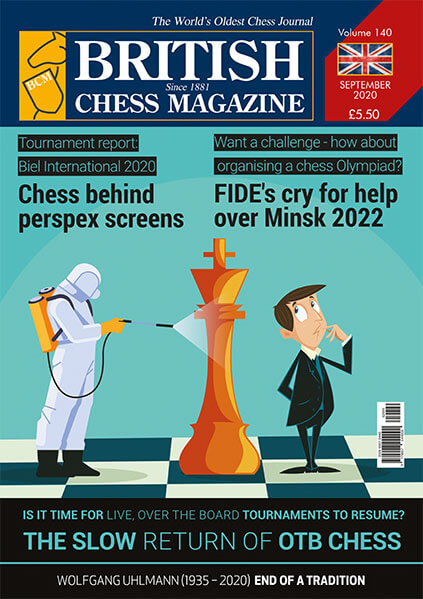 British Chess Magazine - September 2020