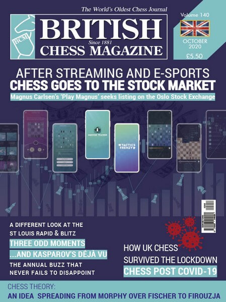British Chess Magazine - October 2020