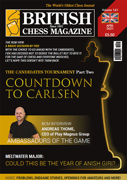 British Chess Magazine - April 2021